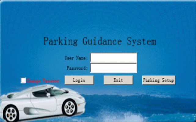 Parking guidance system----SEWO-CW5----Management Software